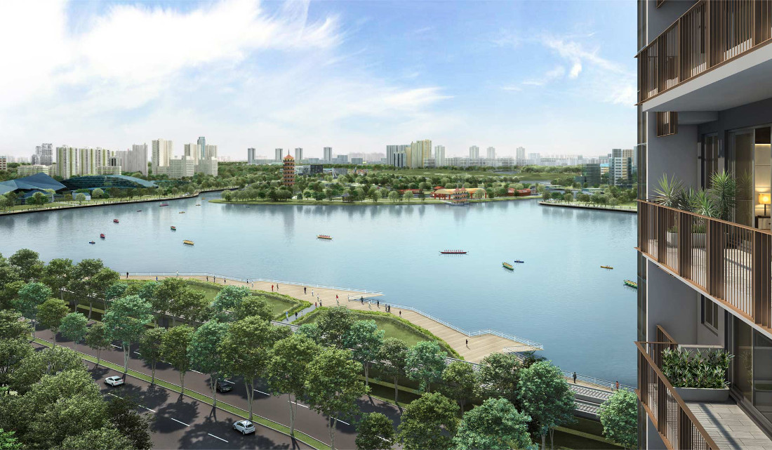 Lake Grande Launch by MCL Land . At Jurong Lake