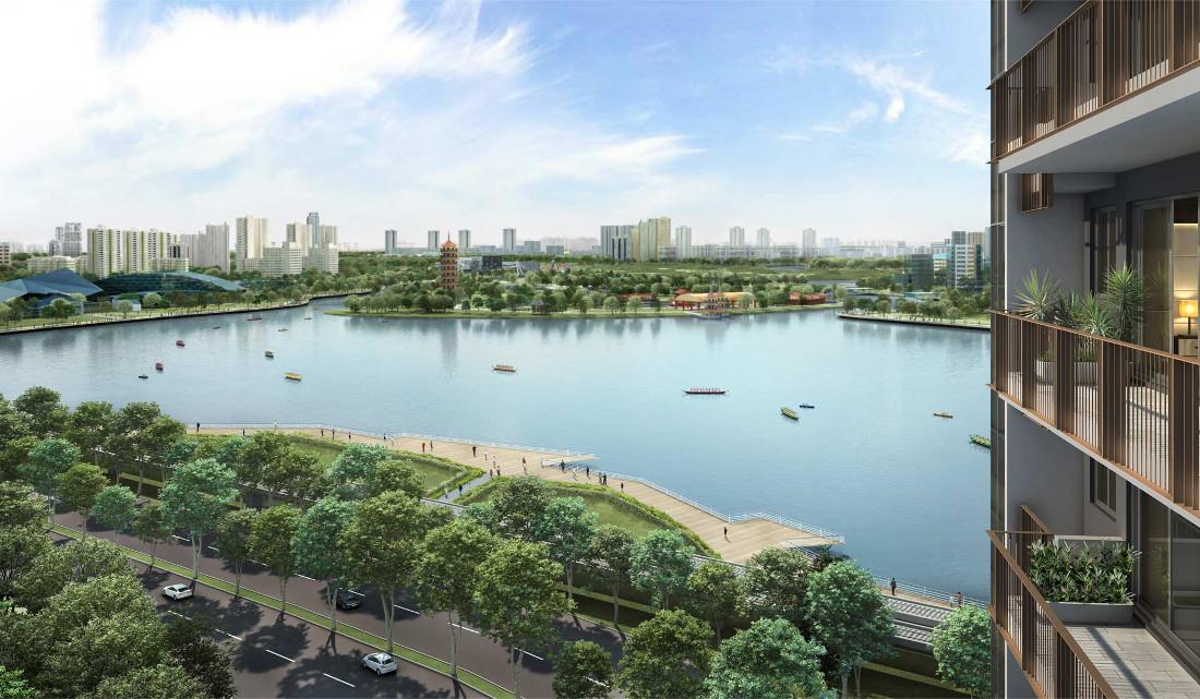 Lake Grande Launch by MCL Land . At Jurong Lake