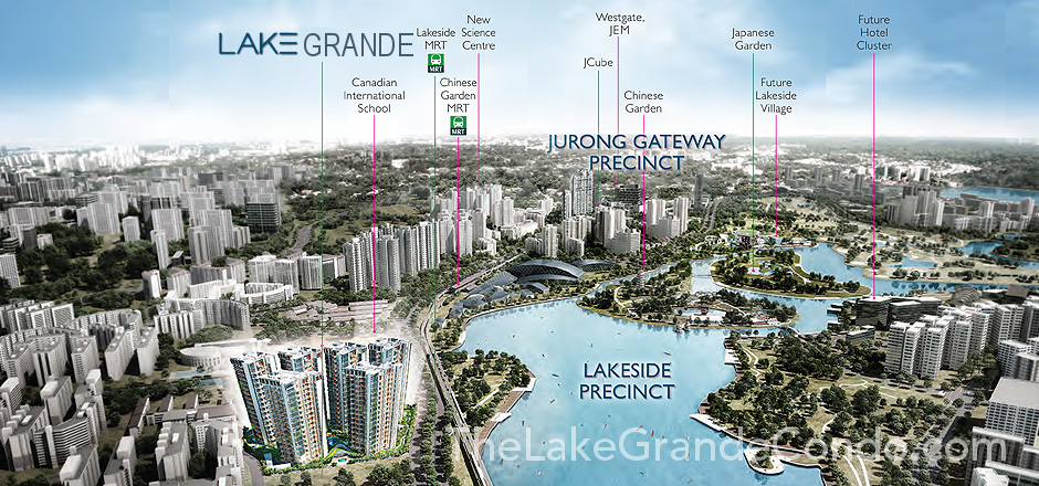 Lake Grande Location @ Jurong Lake District