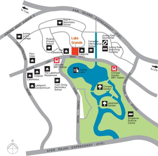 Lake Grande Location Plan URA