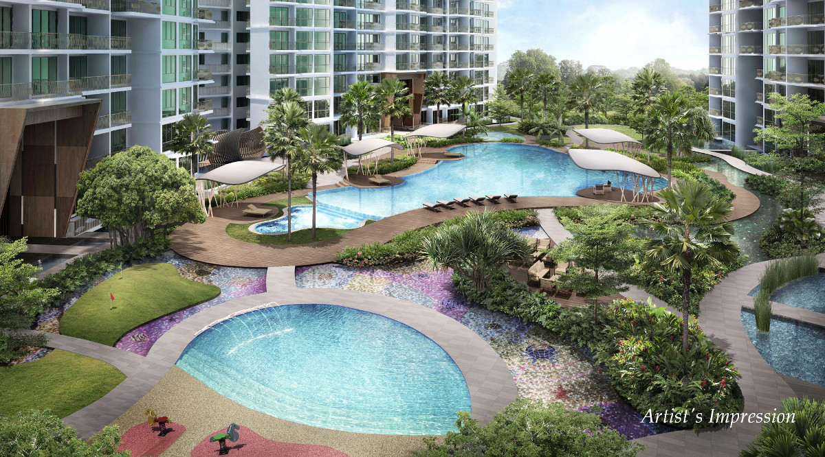 Ripple Bay by MCL . Developer for Lake Grande Singapore